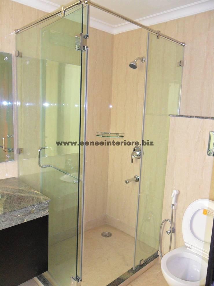 Interior designs: modern Bathroom by Sense Interiors