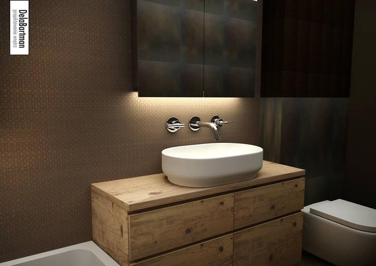 Relaksacyjna łazienka: styl , w kategorii Łazienka zaprojektowany przez DelaBartman