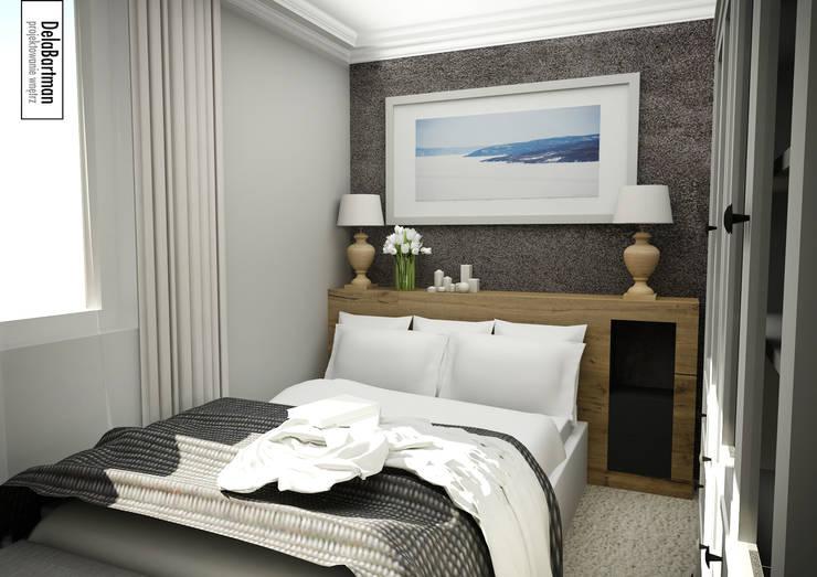 Przytulna sypialnia: styl , w kategorii Sypialnia zaprojektowany przez DelaBartman