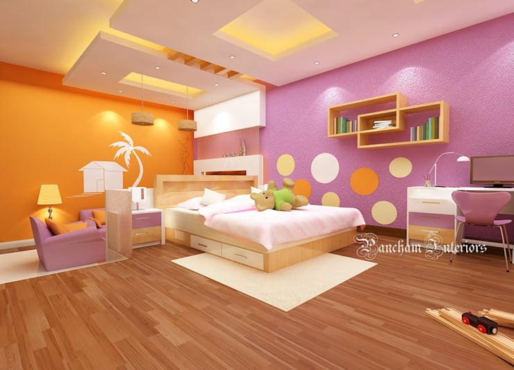 Bedroom Designs:  Bedroom by Pancham Interiors