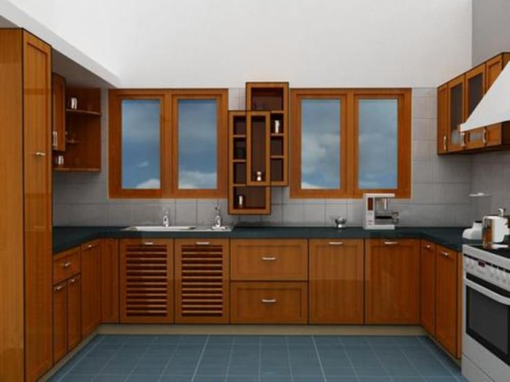 Kitchen Designs: modern Kitchen by Pancham Interiors