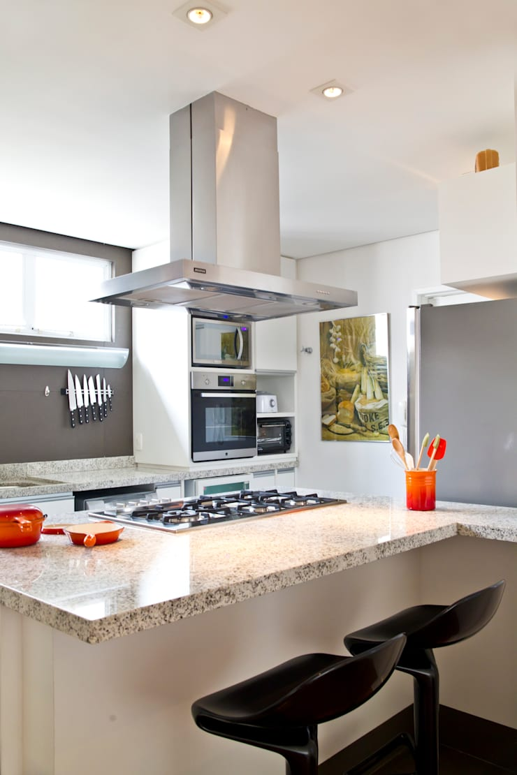Cocinas de estilo  de MCC Arquitetura, Moderno