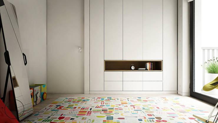 OGRODOWA: styl , w kategorii Pokój dziecięcy zaprojektowany przez KAEL Architekci