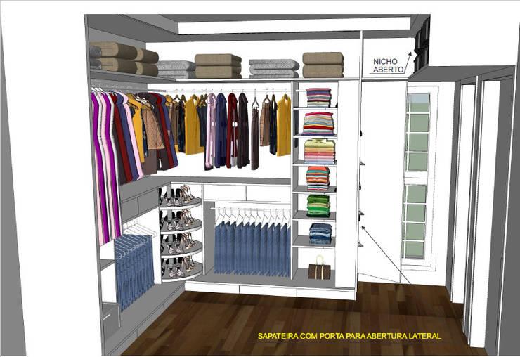modern Dressing room by Studio 15 Arquitetura