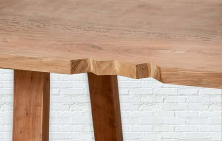 Mesas de madera : Cocinas de estilo rústico por Diego Musadi Muebles