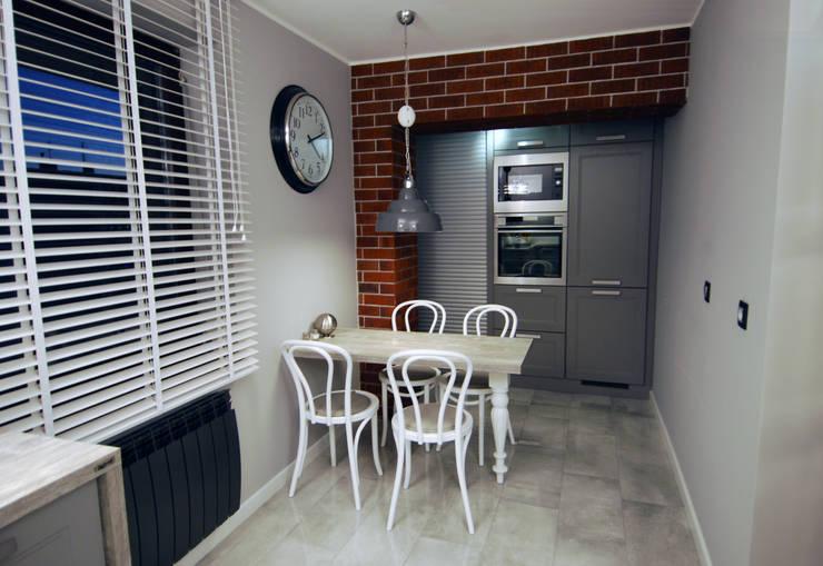 Ząbki.: styl , w kategorii Jadalnia zaprojektowany przez 4 kąty a stół 5 Pracownia Projektowa Ewelina Białobrzewska