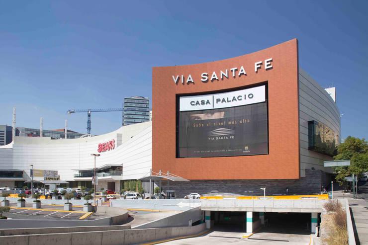 Vía Santa Fe : Casas de estilo  por Grow Arquitectos