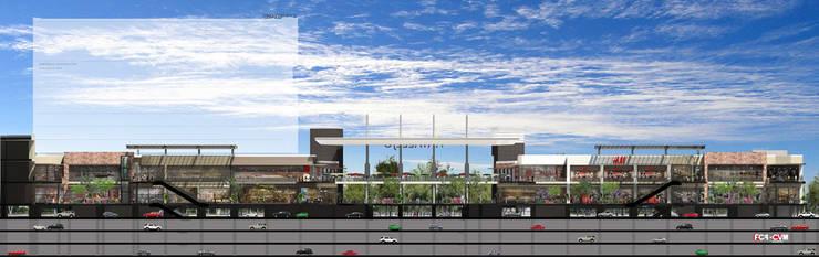Vía Vallejo : Terrazas de estilo  por Grow Arquitectos
