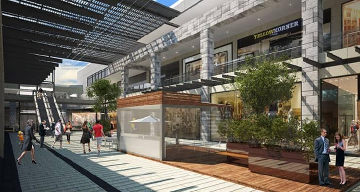Vía Vallejo : Pasillos y recibidores de estilo  por Grow Arquitectos