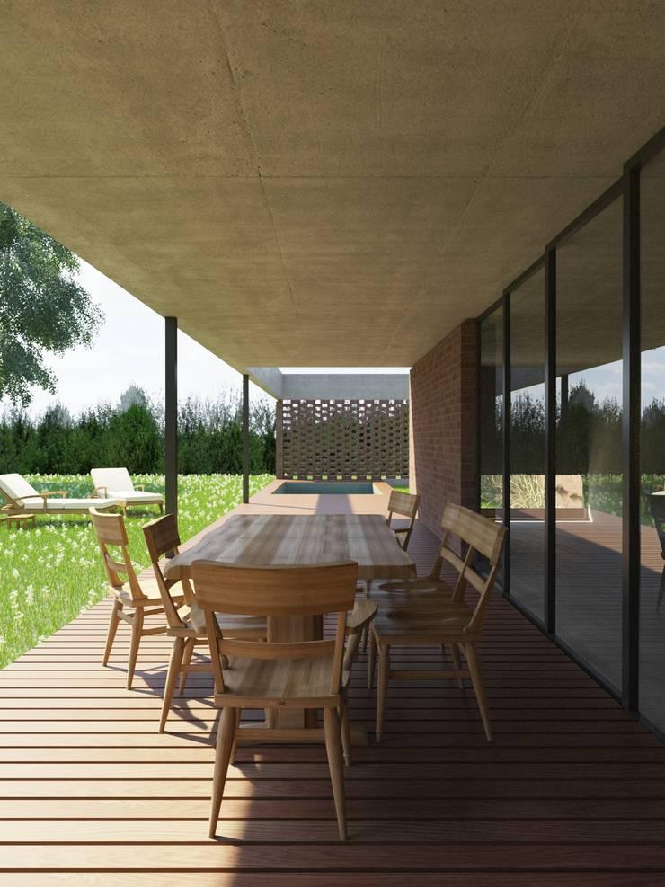 Rumah oleh D+D Studio, Modern