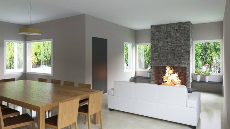 Salas de estilo clásico por D+D Studio
