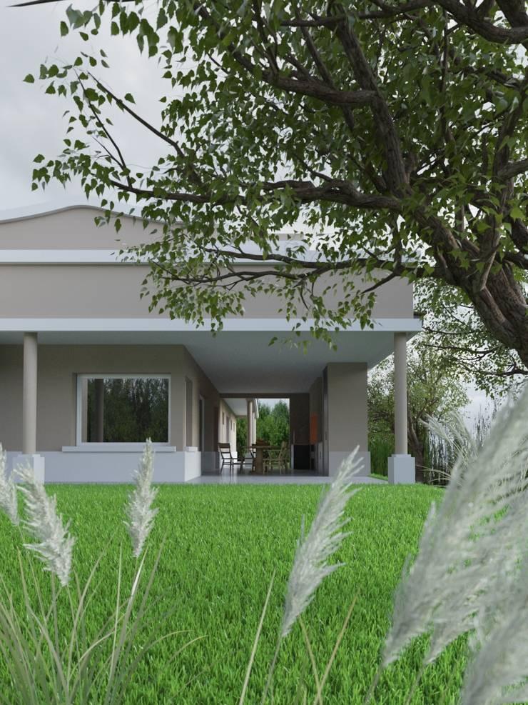 Casa Rodriguez: Casas de estilo  por D+D Studio