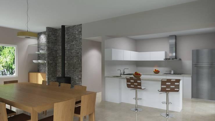 Casa Rodriguez: Cocinas de estilo clásico por D+D Studio