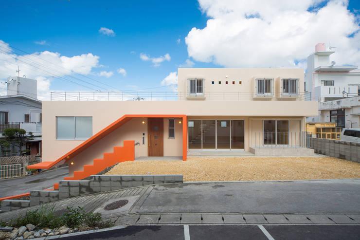 南側外観: プラソ建築設計事務所が手掛けた家です。