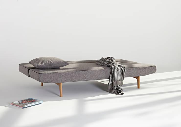 Adalılar Mobilya (İNNOVATİONLİVİNG) – PUZZLE WOOD SOFABED: iskandinav tarz tarz Oturma Odası
