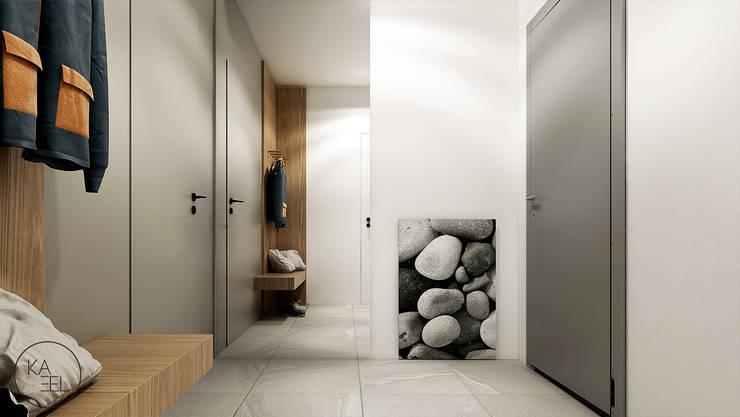 POD LIPAMI: styl , w kategorii Korytarz, przedpokój zaprojektowany przez KAEL Architekci