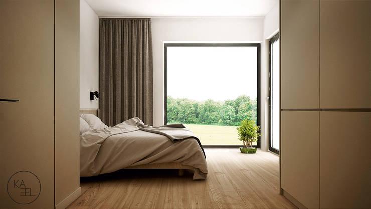 POD LIPAMI: styl , w kategorii Sypialnia zaprojektowany przez KAEL Architekci