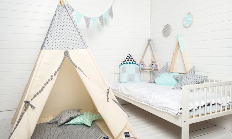 scandinavian Nursery/kid's room by COZYDOTS