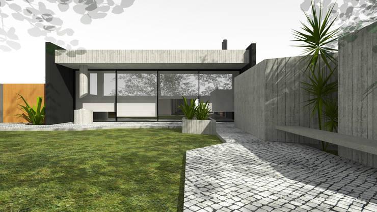 CASA MM: Casas  por Thiago Borges Mendes Arquitetura,
