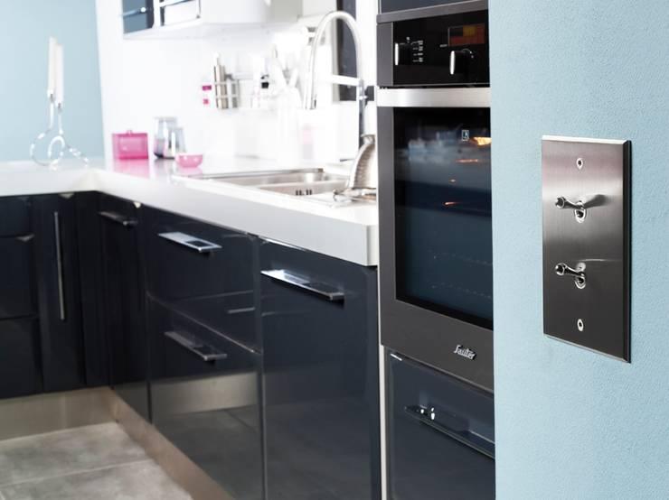 Качественная французская электрофурнитура: Кухня в . Автор – A-partment