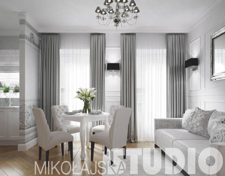 glamour-style-apartment: styl , w kategorii  zaprojektowany przez MIKOŁAJSKAstudio