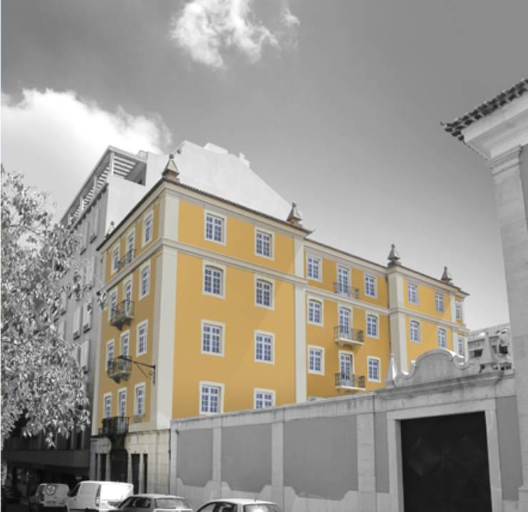 T3 Lisbon Luxury Apartment: Casas modernas por EU LISBOA