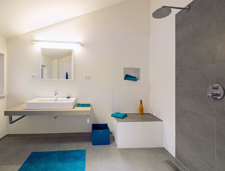 modern Bathroom by Licht-Design Skapetze GmbH & Co. KG
