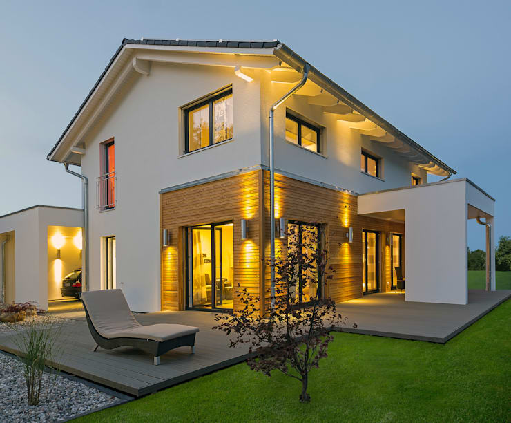 modern Houses by Licht-Design Skapetze GmbH & Co. KG