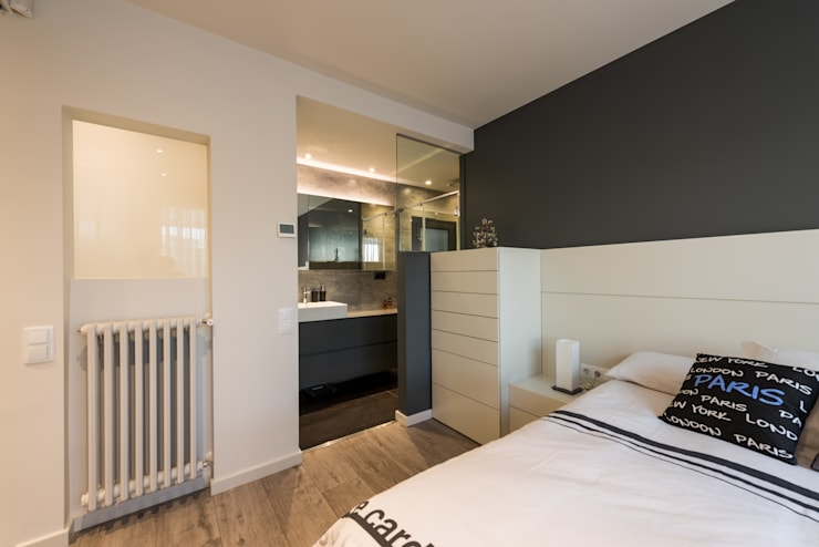 Camera da letto in stile in stile Moderno di Standal