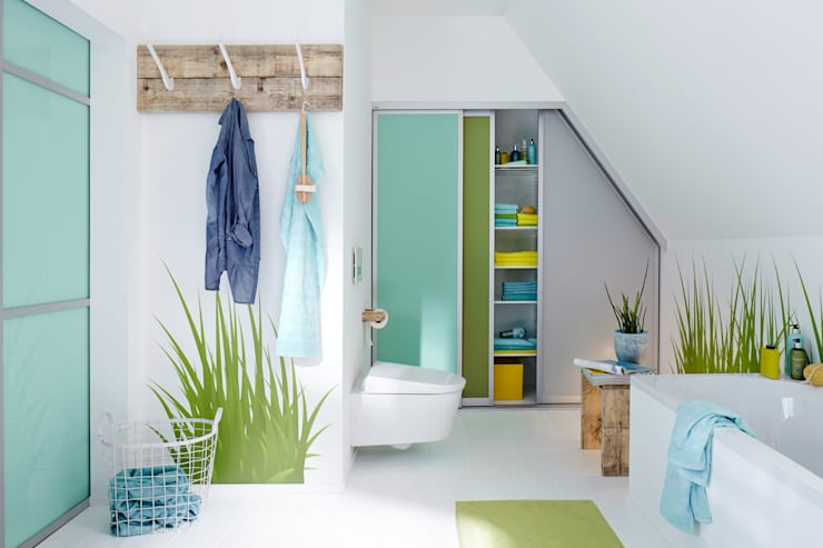Projekty,  Łazienka zaprojektowane przez Elfa Deutschland GmbH