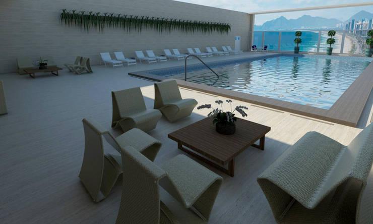 Hotels by Rangel & Bonicelli Design de Interiores Bioenergético, Modern