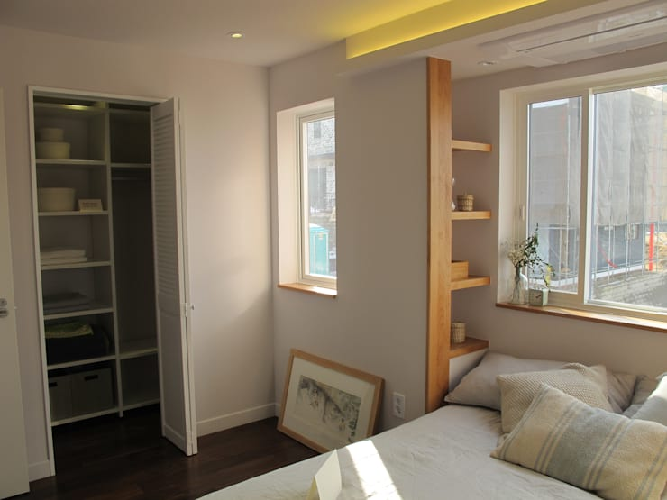 루트주택 17호: 루트 주택의  침실