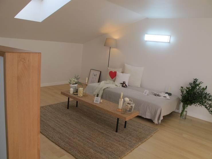 루트 주택: iskandinav tarz tarz Oturma Odası