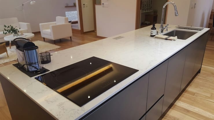 Küche von 루트 주택, Modern