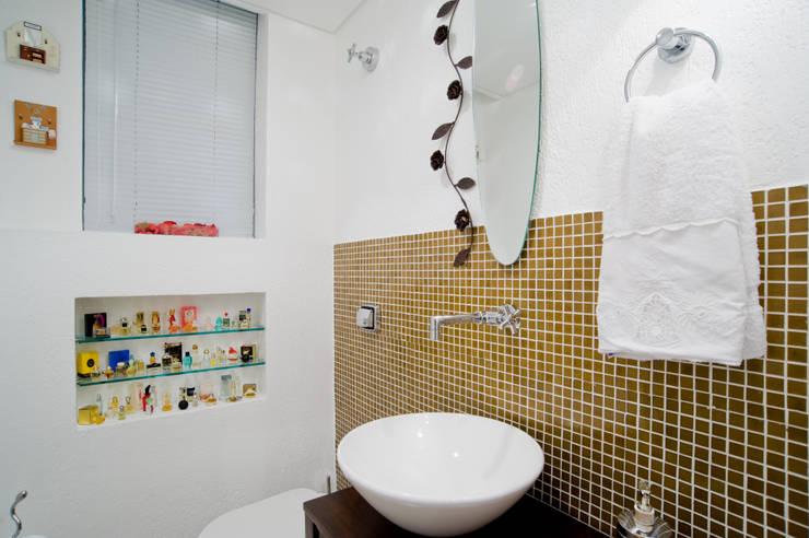 Baños de estilo  por Patrícia Azoni Arquitetura + Arte & Design