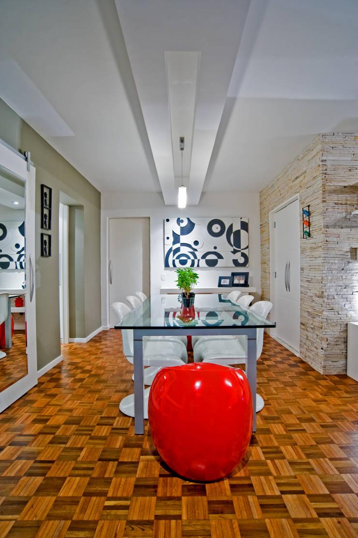 Столовые комнаты в . Автор – Patrícia Azoni Arquitetura + Arte & Design, Модерн