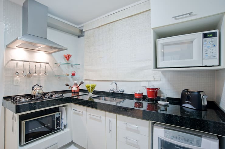 Cocinas de estilo moderno por Patrícia Azoni Arquitetura + Arte & Design