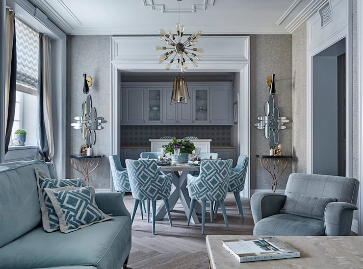eclectic Living room by VVDesign