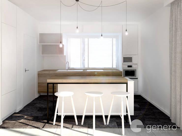 Dom w Tarnowie Podgórnym: styl , w kategorii Kuchnia zaprojektowany przez GENERO