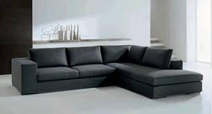 modelo siena: Livings de estilo  por rosario sofas