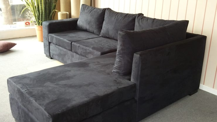 rinconero madrid:  de estilo  por rosario sofas,Moderno Madera maciza Multicolor