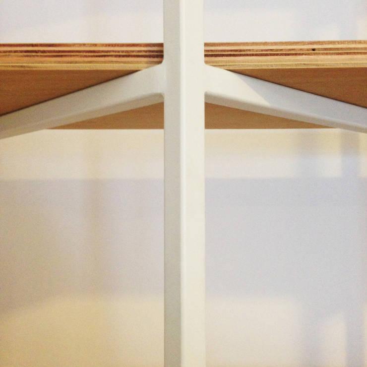 estanteria egg:  de estilo  por nu,Minimalista Madera Acabado en madera