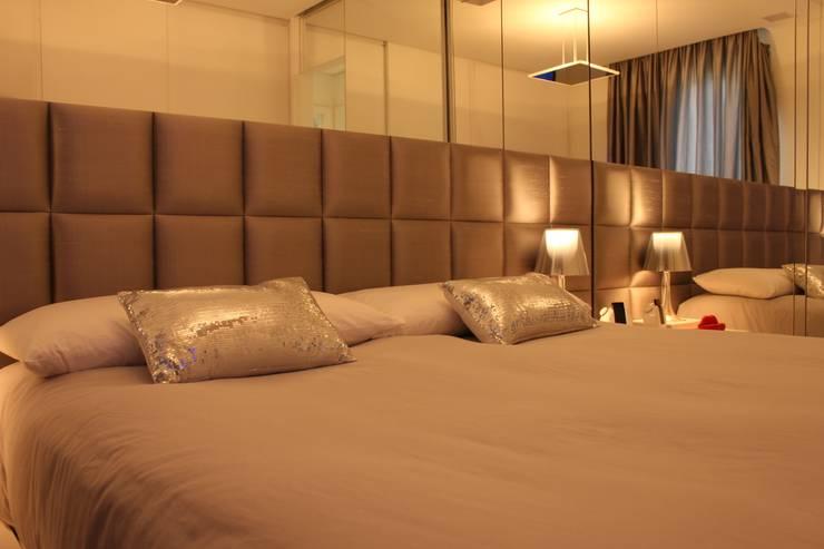 Phòng ngủ theo Estúdio Plano, Hiện đại