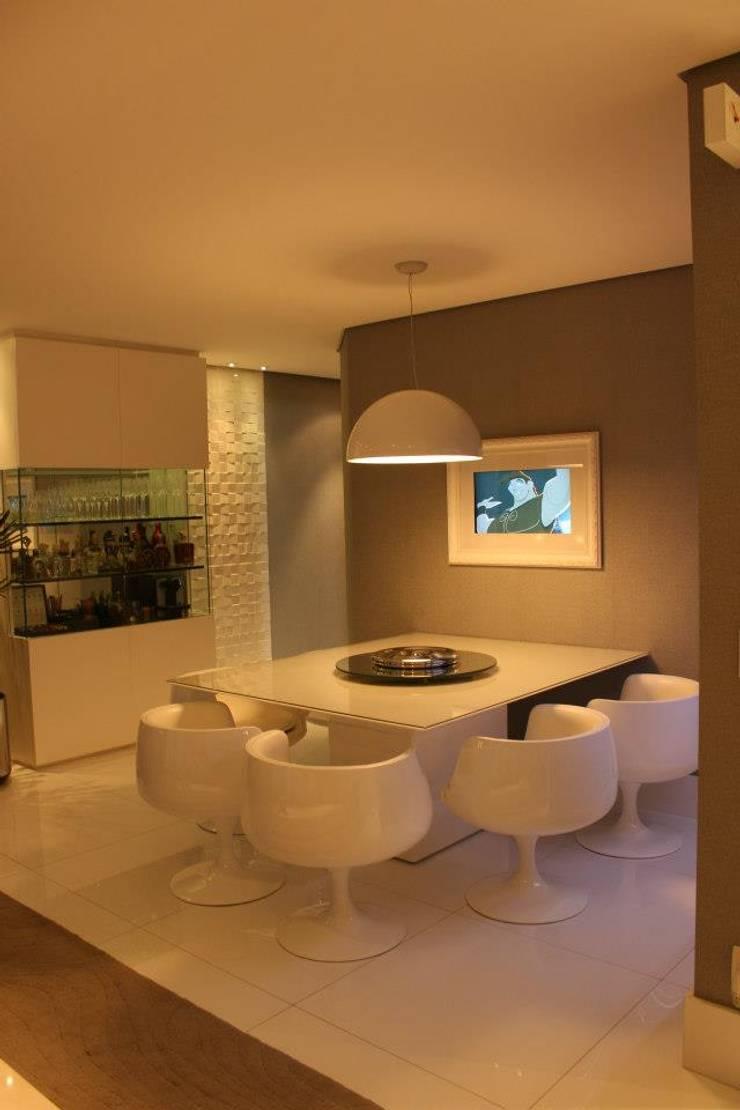Phòng ăn theo Estúdio Plano, Hiện đại
