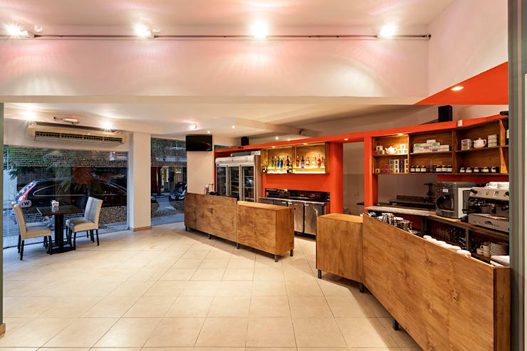 Bar La Culpa: Bares y Clubs de estilo  por AlMargen Estudio,