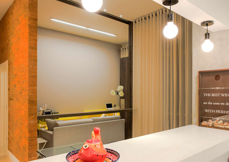 Da gema e do mundo: Cozinhas  por Miguel Arraes Arquitetura,