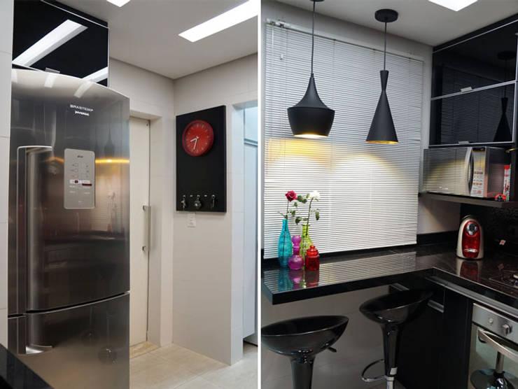 ห้องครัว โดย DANIELE ROVEROTTO | ARQUITETURA, โมเดิร์น กระเบื้อง