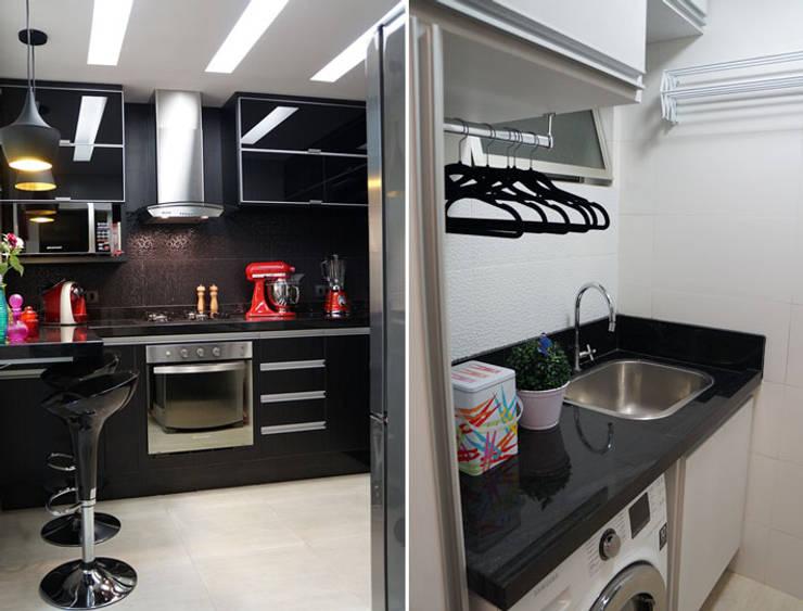 ห้องครัว โดย DANIELE ROVEROTTO | ARQUITETURA, โมเดิร์น แกรนิต