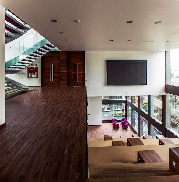 Media room by Serrano Monjaraz Arquitectos