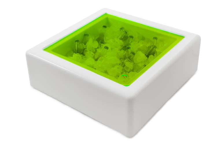Külbox - Mesa/Conservadora de frío: Jardines de estilo  por MÖGEN OUTDOOR,